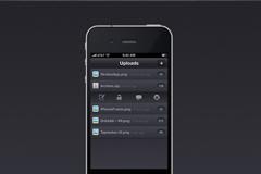 iphone下载程序界面PSD素材