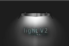 灯光效果设置PSD素材