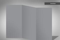 折叠纸模板PSD素材