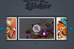 图片浏览界面PSD素材