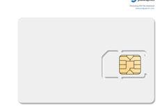 空白电话卡PSD素材
