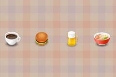 食物小图标PSD素材