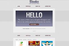 sleeko界面设计PSD素材