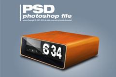 盒装时钟PSD乐虎国际