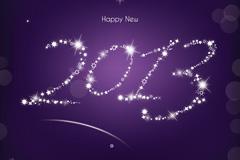 2013星星装饰矢量素材
