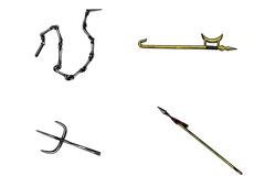 中国古代兵器矢量素材