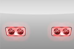 汽车尾灯PSD素材