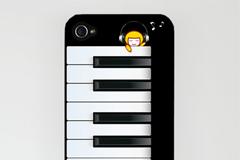 钢琴手机壳PSD素材