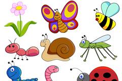 创意昆虫设计矢量素材