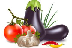 美味蔬菜矢量素材