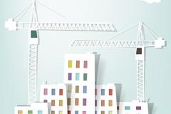 建筑施工剪贴画矢量素材