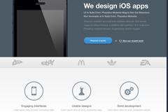 手机应用网站界面PSD素材