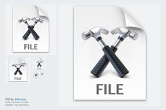 设置文件几种模式PSD素材