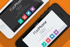 几种iphone形态界面PSD素材