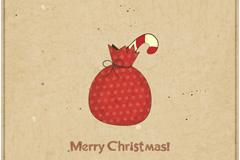 圣诞礼包插画矢量素材