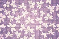淡紫抽象花卉背景矢量素材