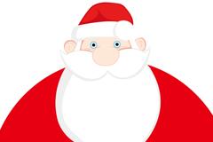 卡通可爱圣诞老人矢量素材